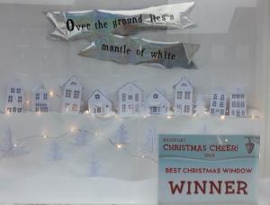 Bridport Christmas Cheer Window